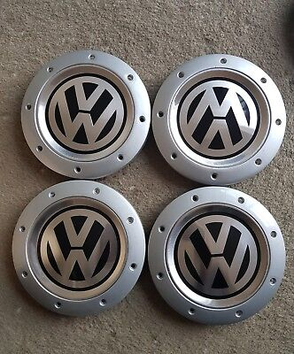 VW GOLF MK5 [2004-09] 4X USED ALLOY WHEEL CENTRE CAPS HUB CAPS. Ebay.co.uk