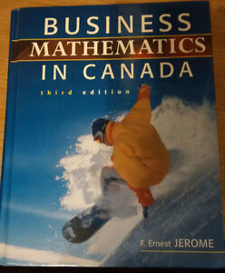 Business Mathematics in Canada by F.Ernest Jerome