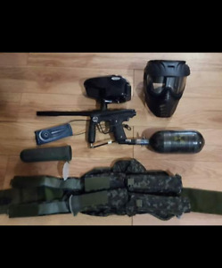 Smart Parts ion paintball marker and accessories for sale