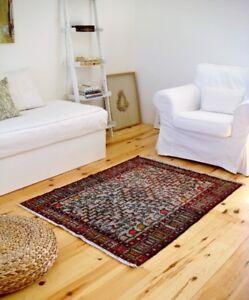 Persian Sumak Kilim Rug 3.5' x 4.6'