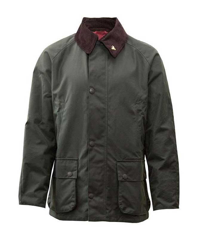 John Partridge Men's Landowner Wax Jacket  5320 Unisex
