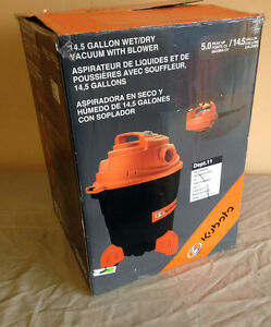 kubota 4 gallon wet dry vac manual
