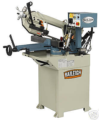 New Baileigh Bs-210m Single Miter Horizontal Band Saw