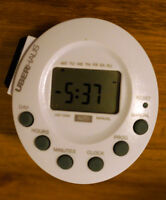 Plug-In 7-day digital electronic timer - PLATEAU