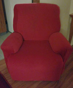 Recliner and Cover