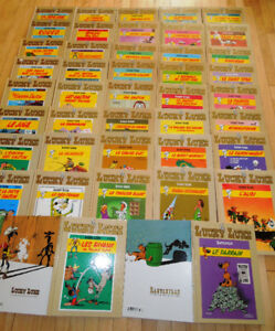 42 / 95 albums bd neufs de la Collection Hachette Lucky Luke