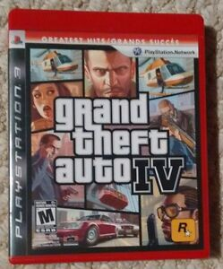 Grand Theft Auto 4  - Playstation 3 - Excellent condition! Kitchener / Waterloo Kitchener Area image 1