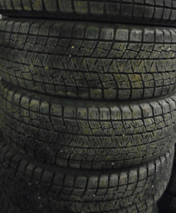 4 Tires sized 215.70.17 at 90-99% Tread left on them