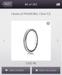 New Hearts of Pandora Ring