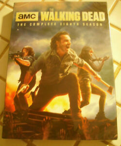 Walking dead S8 - DVD,  english only