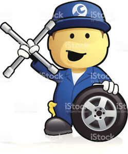 Mobile Road-side assistance Also Car services AC repairs