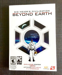 NEW/SEALED Sid Meier's Civilization: Beyond Earth (PC game)