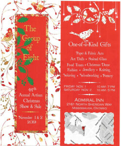 Group of Eight 44th CHRISTMAS CRAFT SALE