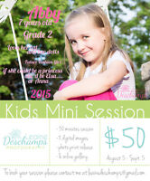Mini Photo Sessions - For Kids!