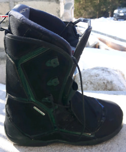 Mens solomon snowboard boots