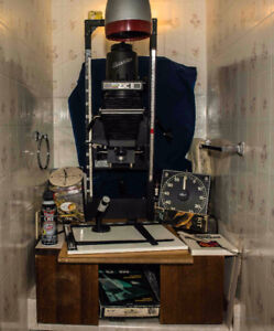 Enlarger and Complete Darkroom