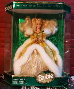 Collectible 1994 Happy Holidays Barbie New in new box RARE