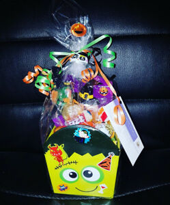 HALLOWEEN CANDY GIFT BASKETS! 2 FOR $22