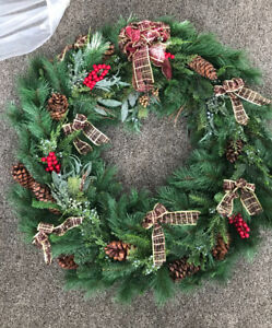 "Extra Large 42"" Christmas Indoor/ Outdoor Wreath"
