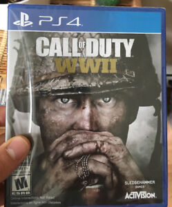 COD WWII PS4 - Brand New