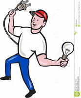 Electrician available for all your electrical needs