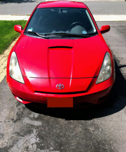 Toyota Celica 2003 with 178000 kms