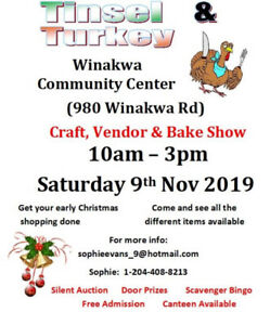 Tinsel & Turkey Craft, Vendor & Bake Show