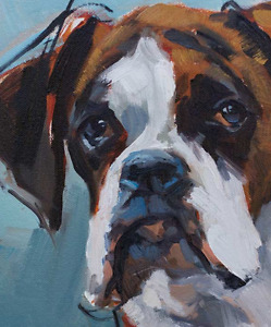 Pet Oil Portraits from your Photos