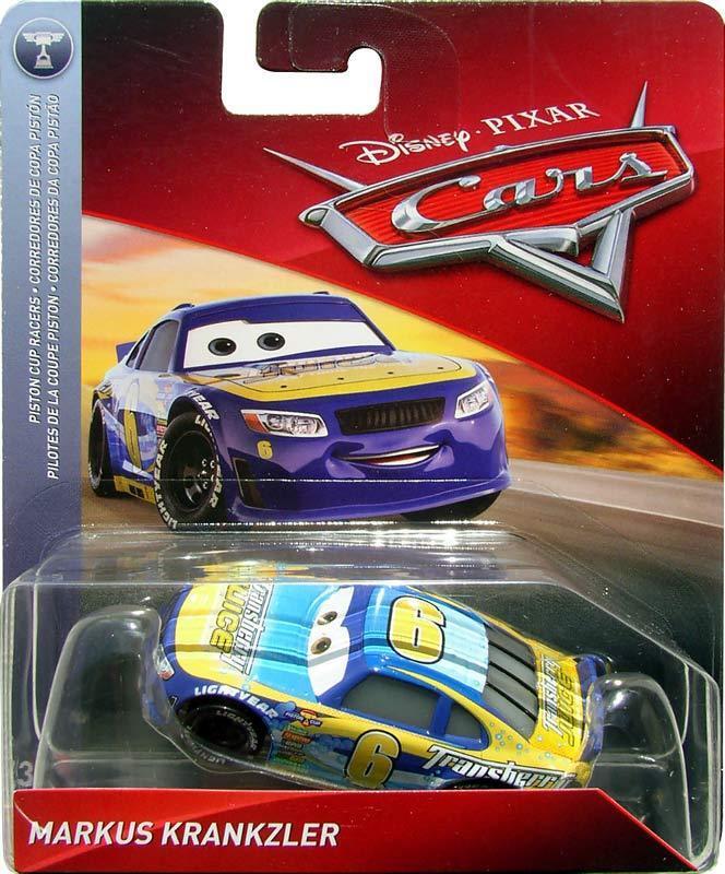 Disney Pixar Cars Markus Kranzler Transberry Juice # 6 Mattel Diecast 1:55 2018