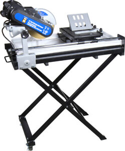 Power Fist 10 inces Wet Tile Saw with Stand (brand new in boxes)