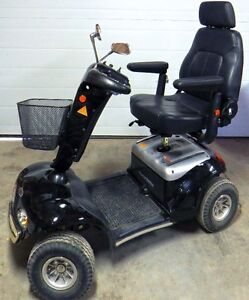 Mobility Scooter - Shop rider 888SL-black-rarely used (pd $3500)