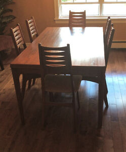 Vintage Danish Teak Dining Room Set