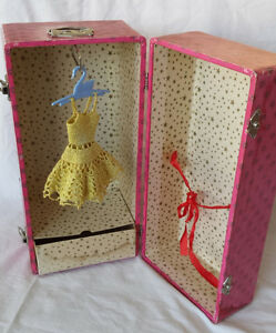 Vintage Doll Carrying Case for doll and clothing