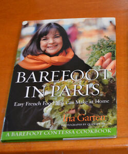 3 Great COOKBOOKS: Ina Garten-PARIS +Martha Stewart +Ruth Fremes