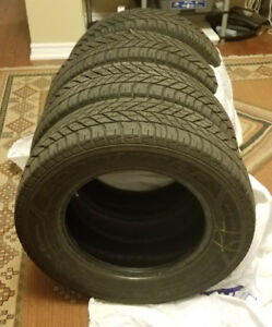 GOODYEAR 225/65R16 100T - 4 WINTER TIRES