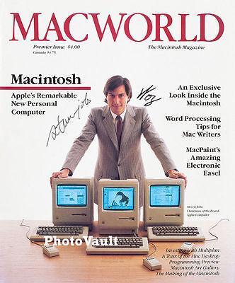 Apple Steve Jobs Woz Signed 8X10 Photo Reprint Autographed Rp