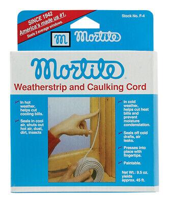 mortite gray caulk caulking cord for window