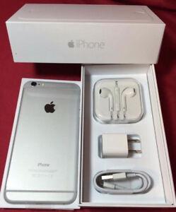 Iphone 6 Unlocked 128GB new In box $310, Iphone 6 16 Gb 240