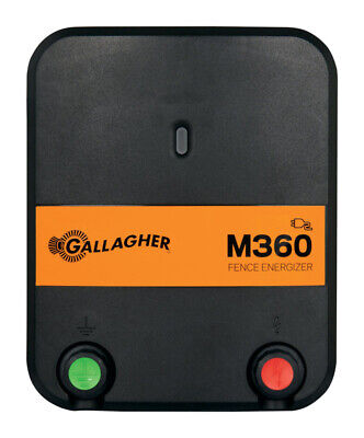 Gallagher M360 Electric 55 Mi. Fence Energizer 110 Volts 3.6 J Blackorange