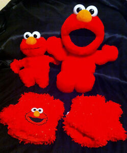 original Tickle me Elmo, Elmo Tickle Hands, LA La Elmo