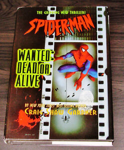 Spider-man Wanted Dead Or Alive by Craig Shaw Gardner Hardcover