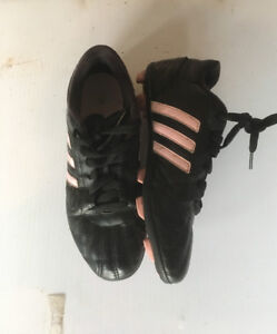 Girls Adidas soccer cleats size 4