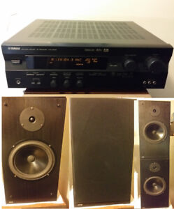 Yamaha Receiver / JPW Speakers Home Stereo