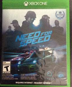 Need for Speed Xbox one Disc