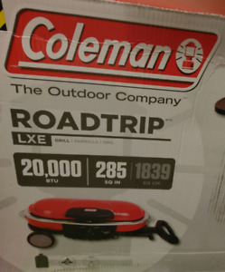 NEW Coleman Road Trip Propane Portable Grill LXE Camp Stove