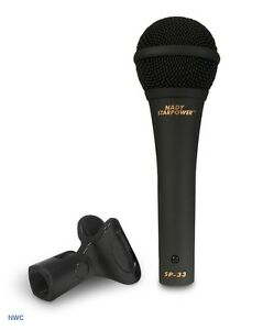 Sound-Lite Sales Item # Nady SP-33 Microphone ($21.99)(New)