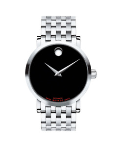 Movado Red Label 0606283 automatic SS 42MM box asnew(sell/trade)