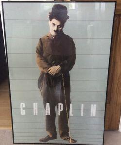 Tableau de Charlie Chaplin