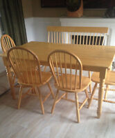 Kitchen table and chairs-Sold PPU