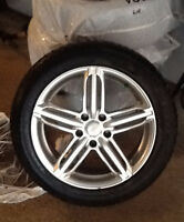Winter Tires for Sale Goodyear 225/50R17 98V + RSSW Rims